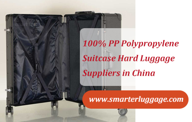 100% PP Polypropylene Suitcase Hard Luggage Suppliers in China