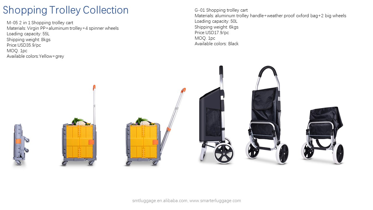 Superlight Shopping Trolley