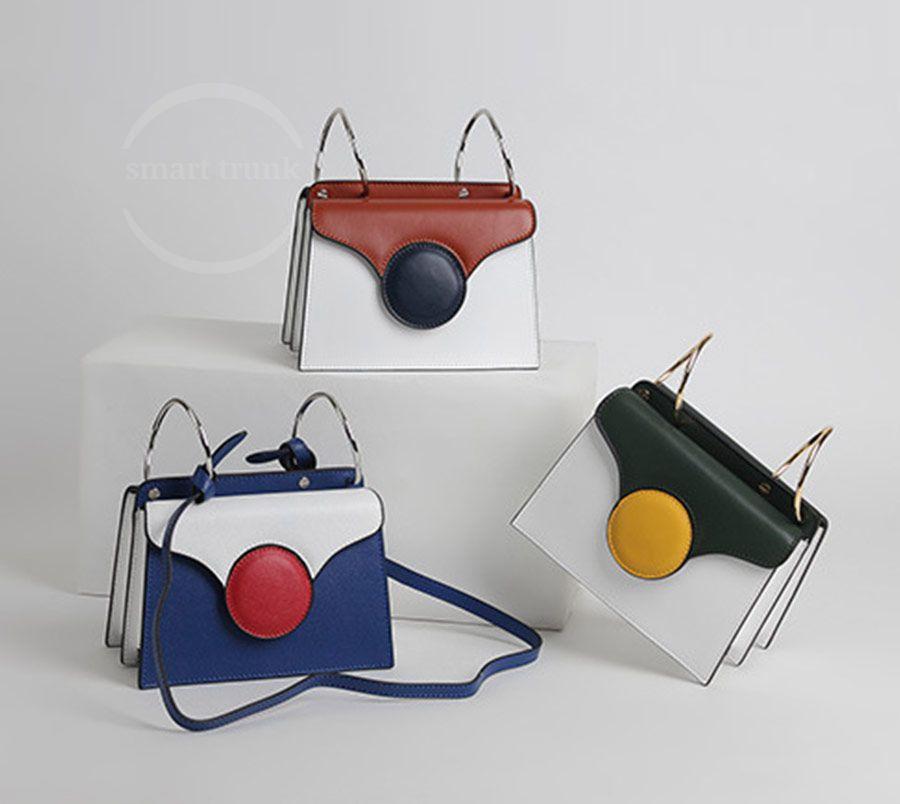 Genuine Leather Woman Handbag 1035