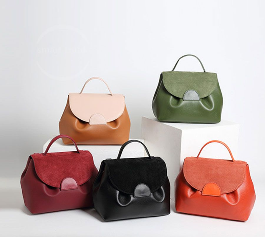 Genuine Leather Woman Tote Bag 922