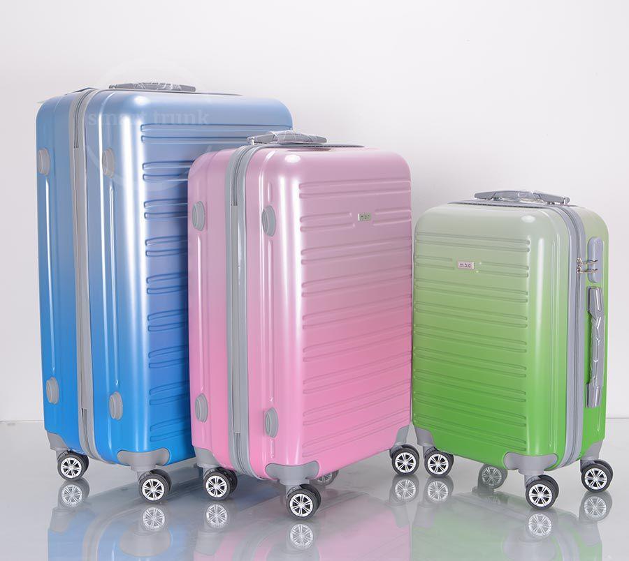 3pcs Rainbow Luggage Set SA324
