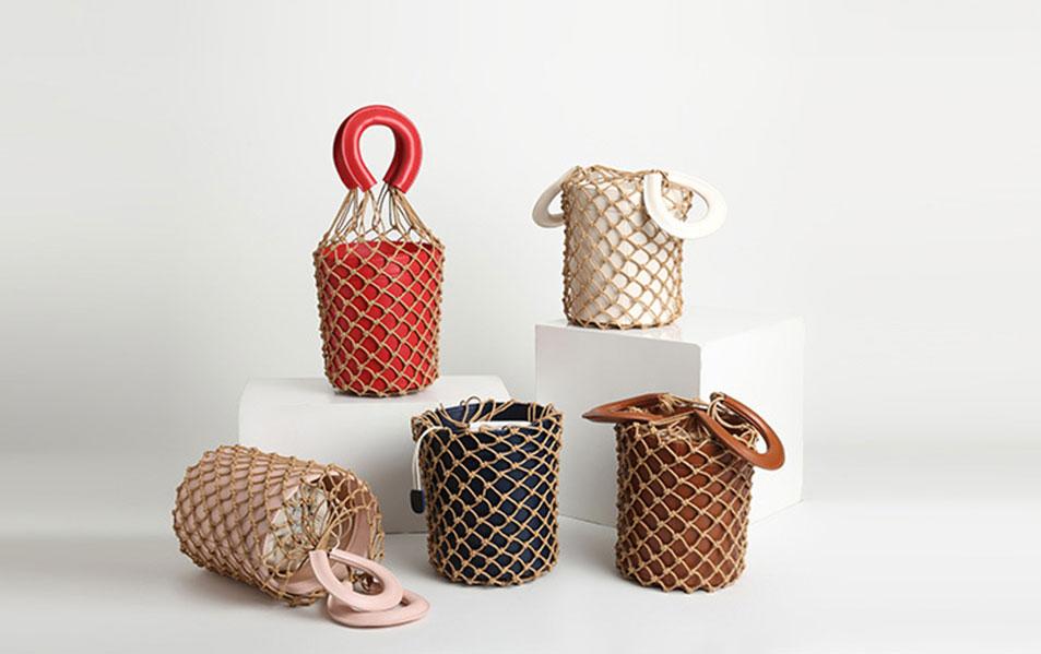 Grid Handbag SMT2019002