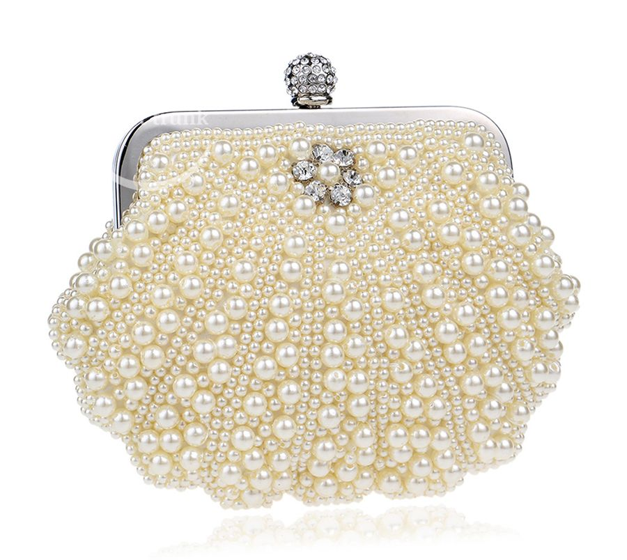 Manual Pearl Clutch Bag 02