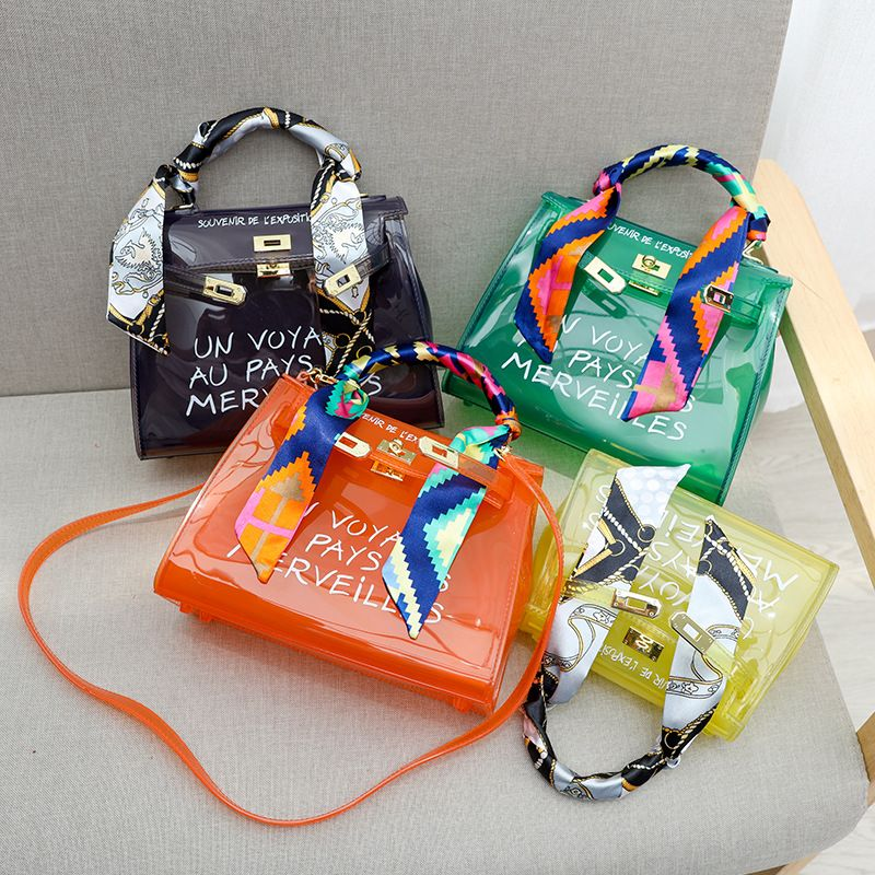 Coloured PVC Transparent Bag