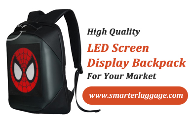 High Quality LED Screen Display Backpack For Your Market