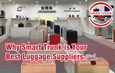 Why Smart Trunk is Your Best Luggage Suppliers