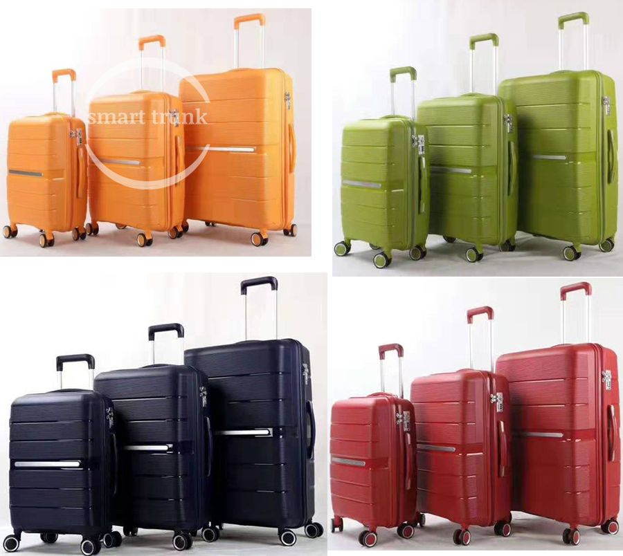 New Arrival PP Luggage Factory